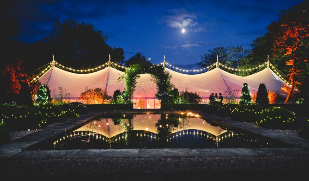 Guide to planning a marquee wedding